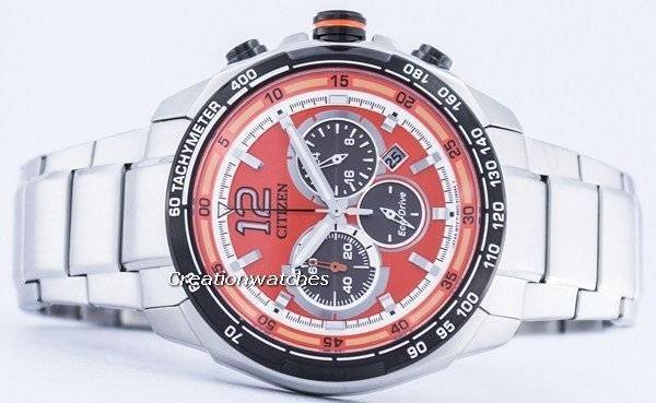 Citizen Eco-Drive Chronograph Power Reserve CA4234-51X Men's Watch - Click Image to Close