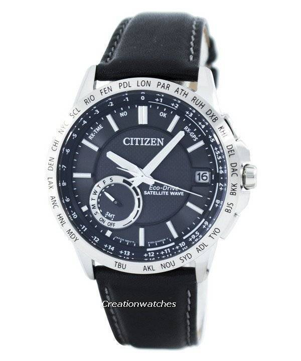 Citizen Eco-Drive Satellite Wave GPS World Time CC3000-03E Men's Watch - Click Image to Close