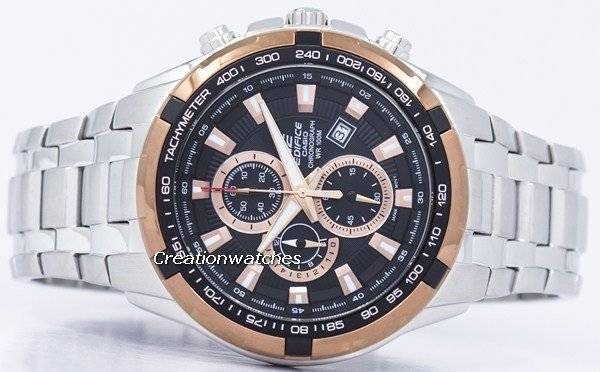 Casio Edifice Chronograph Quartz Tachymeter EF-539D-1A5V EF539D-1A5V Men's Watch - Click Image to Close