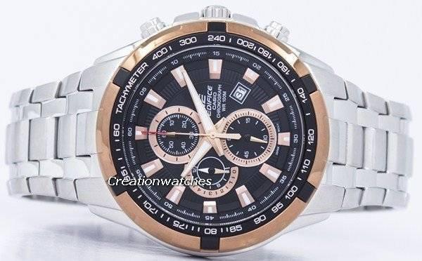 Casio Edifice Chronograph Quartz Tachymeter EF-539D-1A5V Men's Watch - Click Image to Close