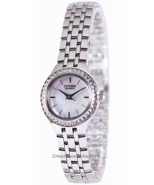 Citizen Quartz Swarovski Collection EJ6040-51D Women's Watch - Click Image to Close