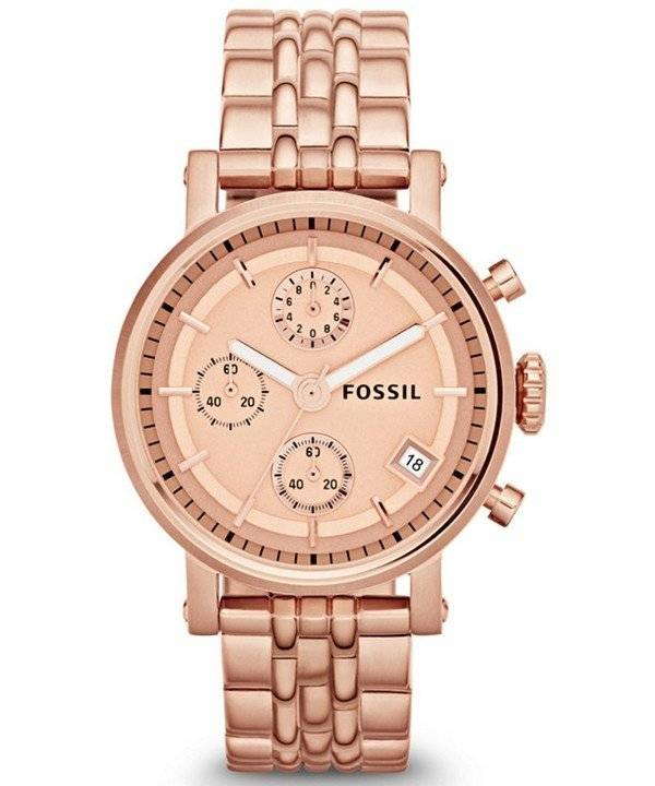 Fossil Original Boyfriend Chronograph ES3380 Women's Watch - Click Image to Close