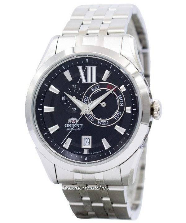 sporty automatic black dial et0x004b men s watch orient sporty automatic black dial et0x004b men s watch