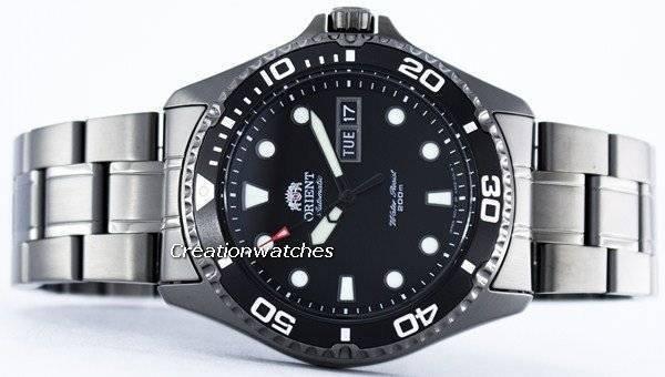 orient ray raven ii automatic 200m faa02003b9 menu0027s watch