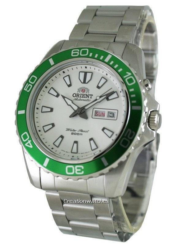 Orient Mako Automatic Diver EM75006W Mens Watch - Click Image to Close