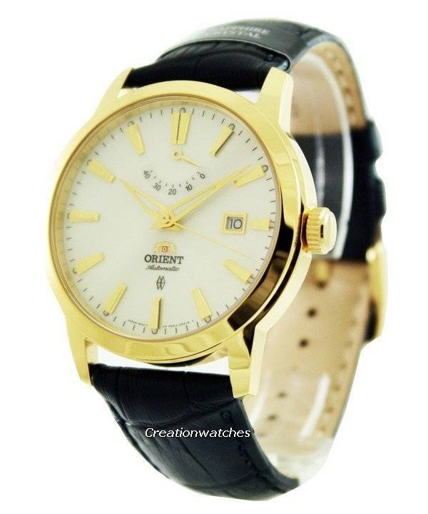 Orient Automatic Curator Power Reserve FFD0J002W Men's Watch - Click Image to Close