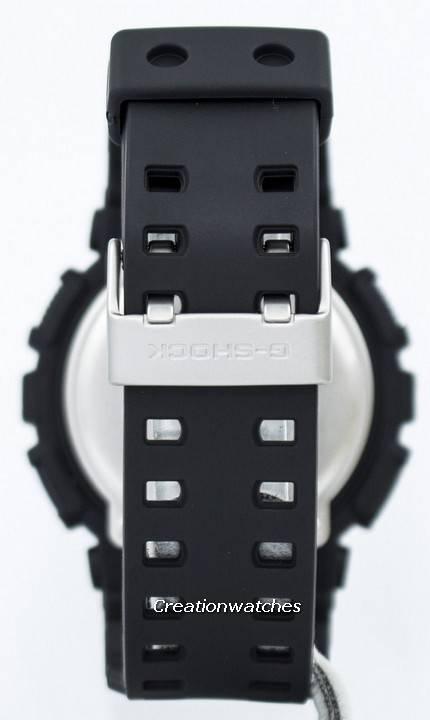Casio G-Shock Military Matte Black GA-100-1A1 GA100-1A1 Men's Watch - Click Image to Close