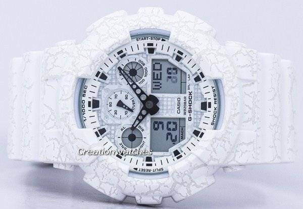 Casio G-Shock Shock Resistant World Time Analog Digital GA-100CG-7A GA100CG-7A Men's Watch - Click Image to Close