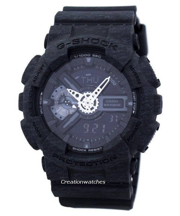 Casio G-Shock Heather Colors Series Shock Resistant Analog Digital GA-110HT-1A GA110HT-1A Men's Watch - Click Image to Close