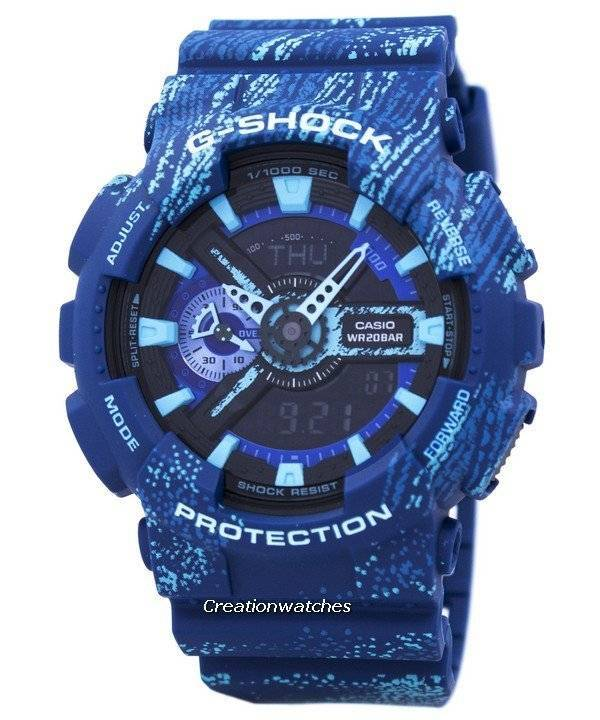 Casio G-Shock Shock Resistant World Time Alarm Quartz GA-110TX-2A GA110TX-2A Men's Watch - Click Image to Close