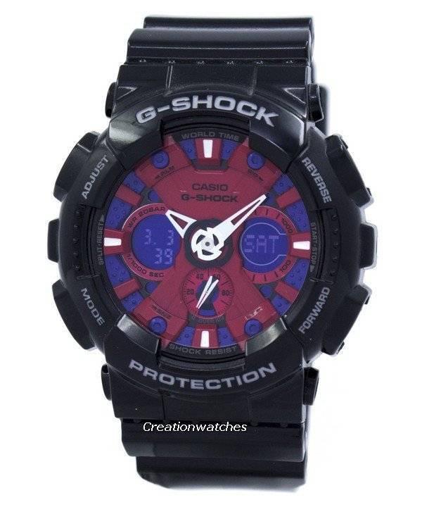 Casio G-Shock Black Analog Digital GA-120B-1A GA120B-1A Mens Watch - Click Image to Close