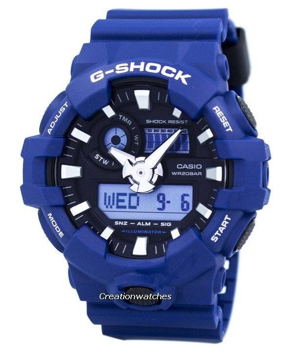 Casio G-Shock Analog Digital 200M GA-700-2A GA700-2A Men's Watch - Click Image to Close