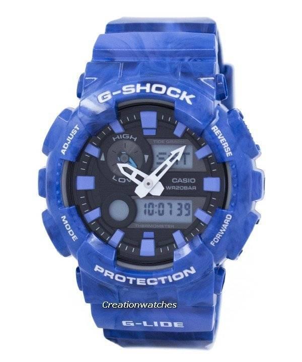 Casio G-Shock G-Lide Analog Digital GAX-100MA-2A GAX100MA-2A Men's Watch - Click Image to Close