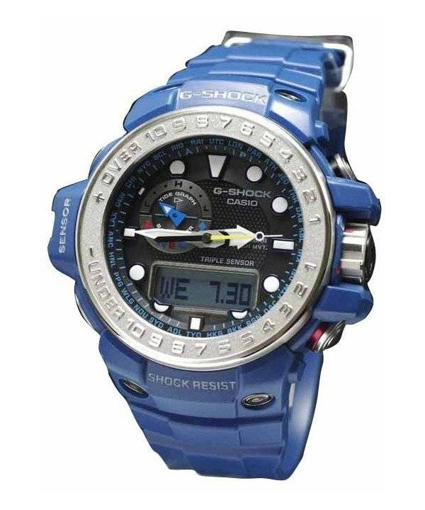 Casio GULFMASTER G-Shock Triple Sensor Atomic GWN-1000-2AJF Men's Watch - Click Image to Close