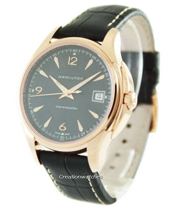 Hamilton American Classic Jazzmaster Viewmatic H32445585 Men's Watch - Click Image to Close