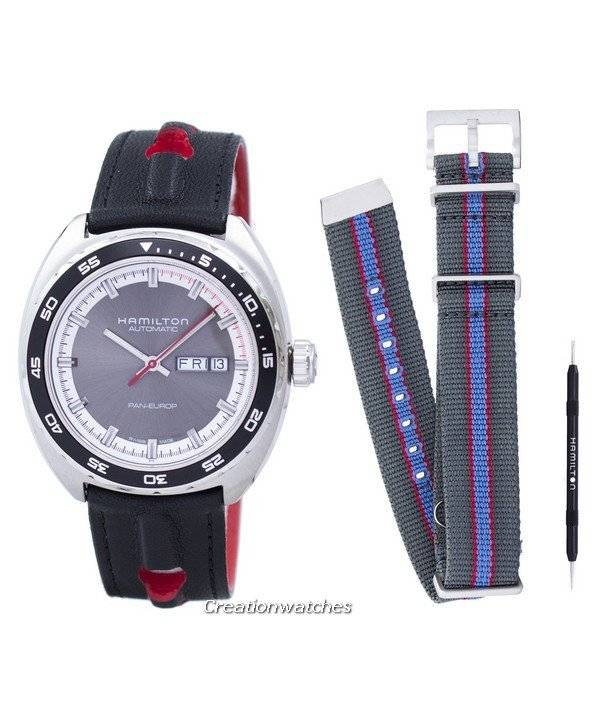 Hamilton American Classic Pan Europ Automatic H35415781 Men's Watch - Click Image to Close