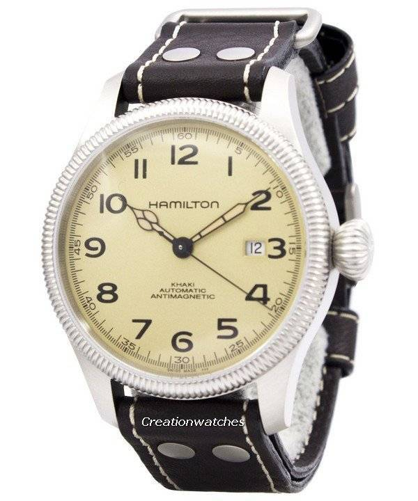 Hamilton Khaki Field Pioneer Automatic Antimagnetic Swiss Made H60455593 Men's Watch - Click Image to Close