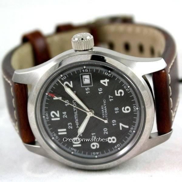 Para Hamilton Reloj Khaki H70455533 Hombre Field dWxBCreQo
