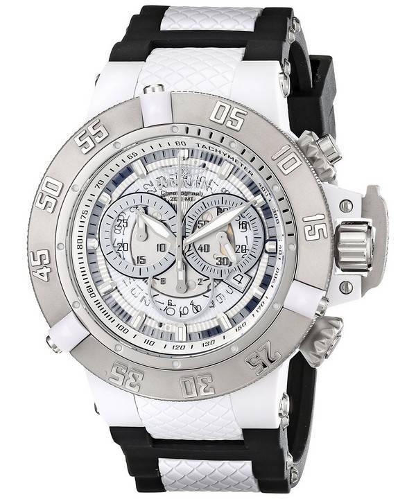 Invicta Subaqua Chronograph Tachymeter 200M 0924 Men's Watch - Click Image to Close