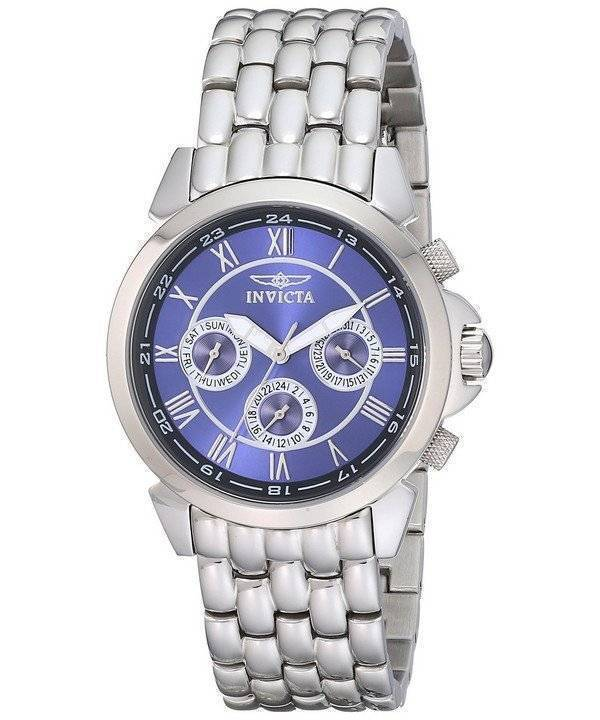 Invicta Specialty Collection Multifunction Blue Dial 2876 Men's Watch - Click Image to Close