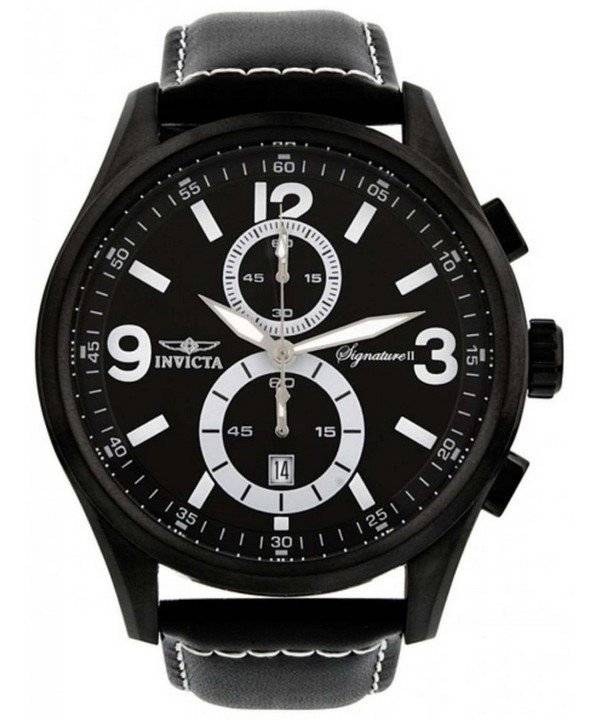 Invicta Signature II Elegant Chronograph 7420 Men's Watch - Click Image to Close