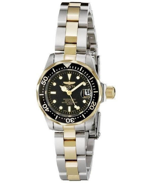 Invicta Pro Diver Quartz Two Tone 8941 Women's Watch - Click Image to Close