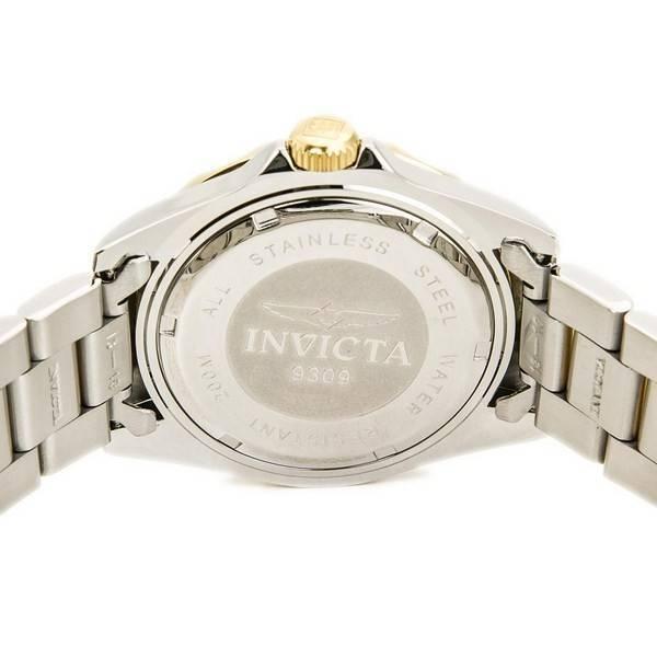 Invicta Swiss Pro Diver 200M Black Dial 9309 Men's Watch - Click Image to Close