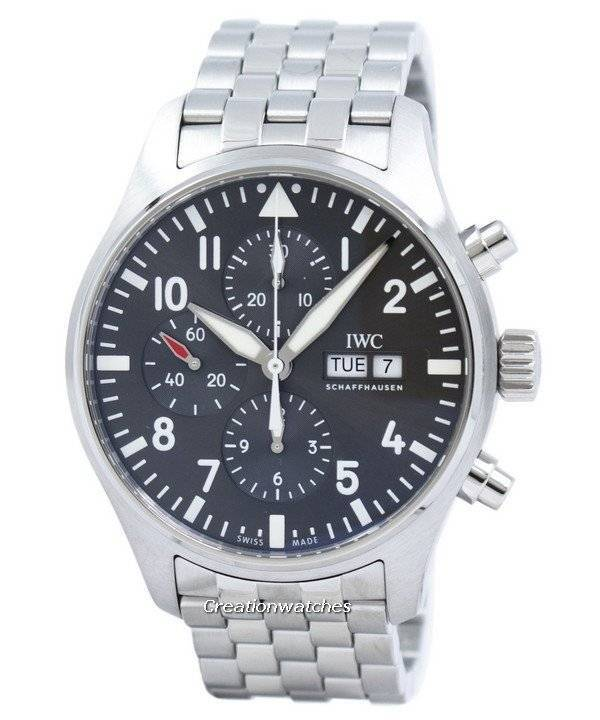 IWC Pilot's Spitfire Chronograph Automatic IW377719 Men's Watch - Click Image to Close