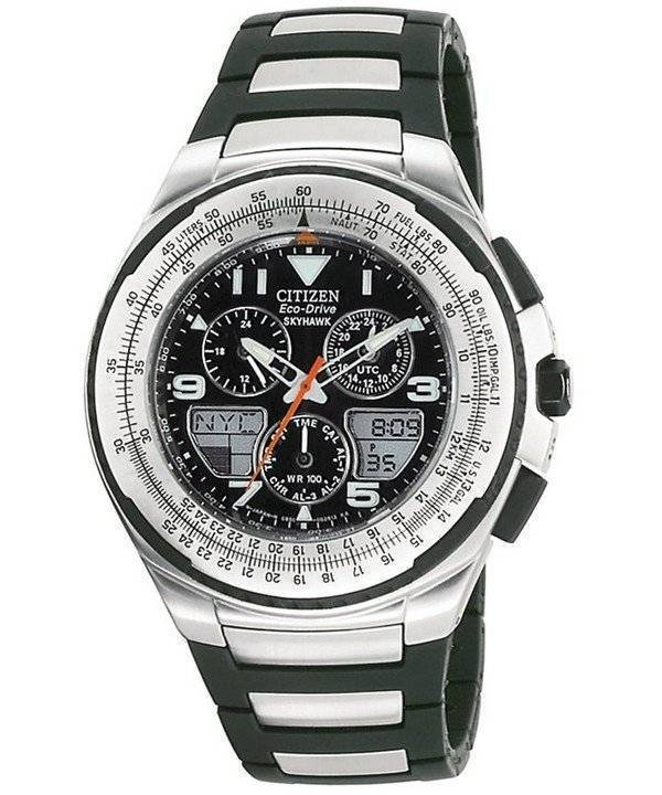 watches eco citizen gents drive rubber strap watch skyhawk