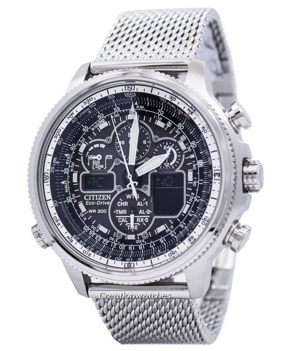 watch stainless silver shop en watches citizen steel bags promaster wardow skyhawk super controlled designer com radio