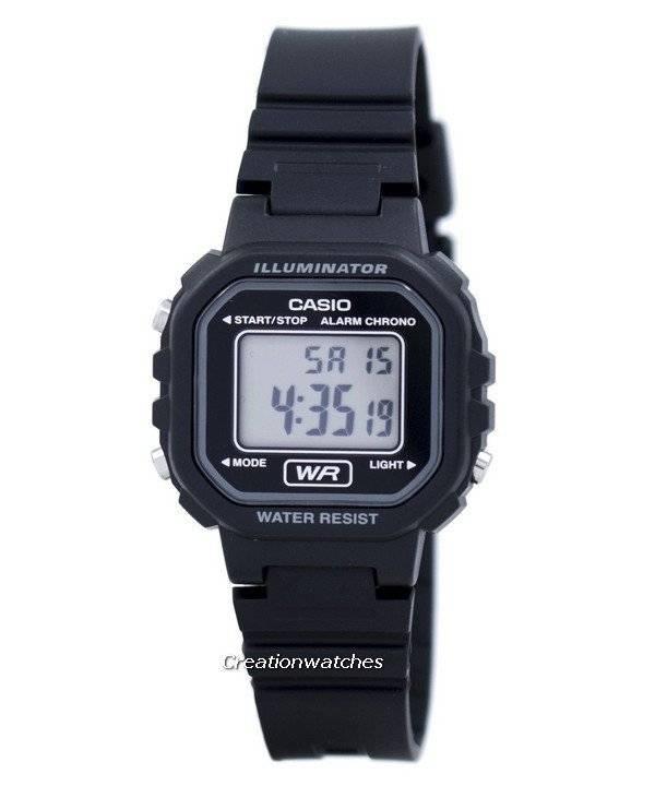 Casio Digital Quartz Alarm Chrono Illuminator LA-20WH-1ADF LA-20WH-1A Women's Watch - Click Image to Close