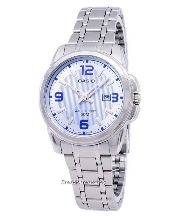 Casio Enticer Analog Quartz LTP-1314D-2AVDF LTP-1314D-2AV Women's Watch - Click Image to Close