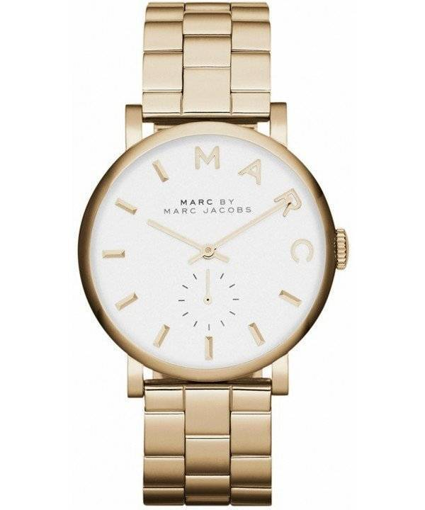 Marc By Marc Jacobs Baker White Dial MBM3243 Women's Watch - Click Image to Close