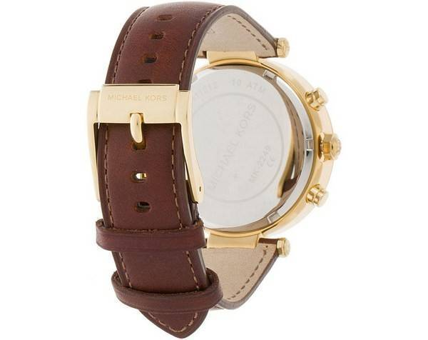 Michael Kors Chronograph Crystal MK2249 Women's Watch - Click Image to Close