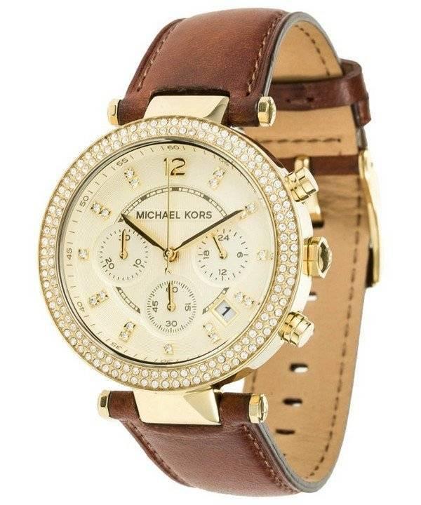 Michael Kors Chronograph Crystal MK2249 Women's Watch - Click Image to Close