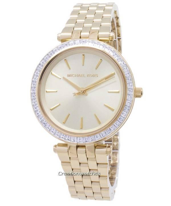 Michael Kors Mini Darci Crystals Gold Tone MK3365 Women's Watch - Click Image to Close