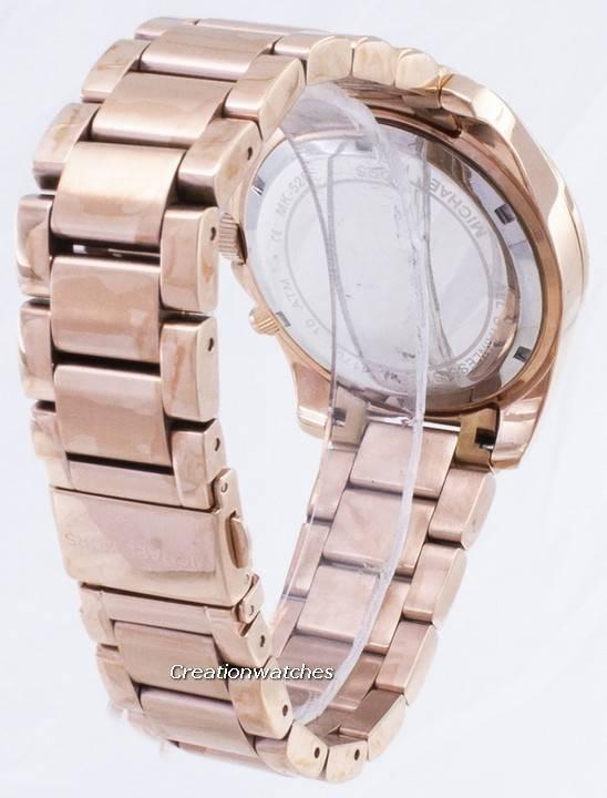 Michael Kors Rose Gold Plated Blair Glitz MK5263 Women's Watch - Click Image to Close