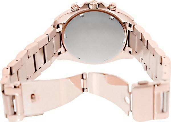 Michael Kors Rose Gold Plated Blair Glitz MK5263 Women's Watch - Click Image to Close