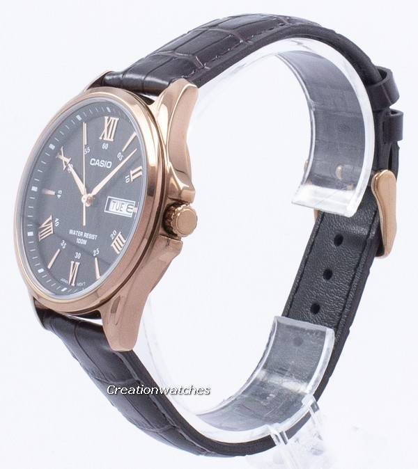 Casio Enticer Analog Quartz MTP-1384L-1AV MTP1384L-1AV Men's Watch - Click Image to Close