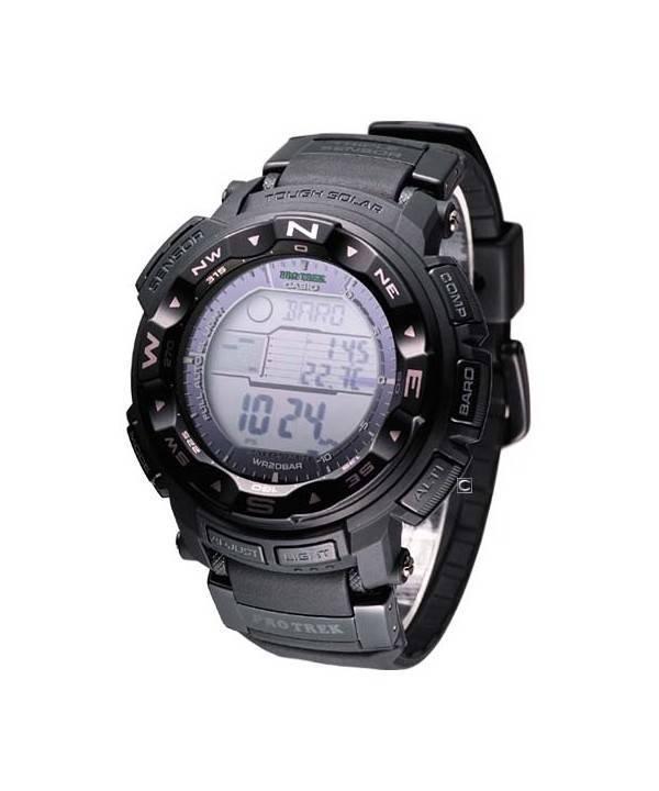 Casio Protrek Solar Power PRG-250-1 Mens Watch - Click Image to Close