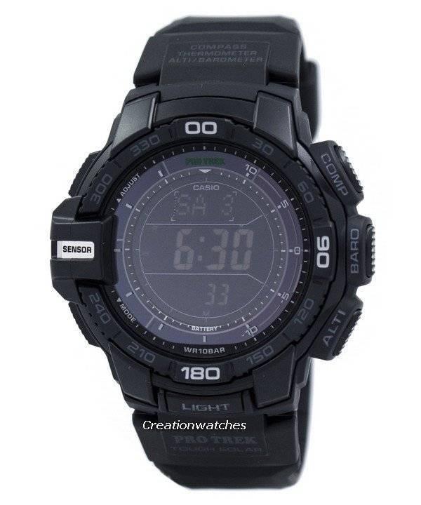 Casio Protrek Triple Sensor Tough Solar PRG-270-1A PRG270-1A Watch - Click Image to Close
