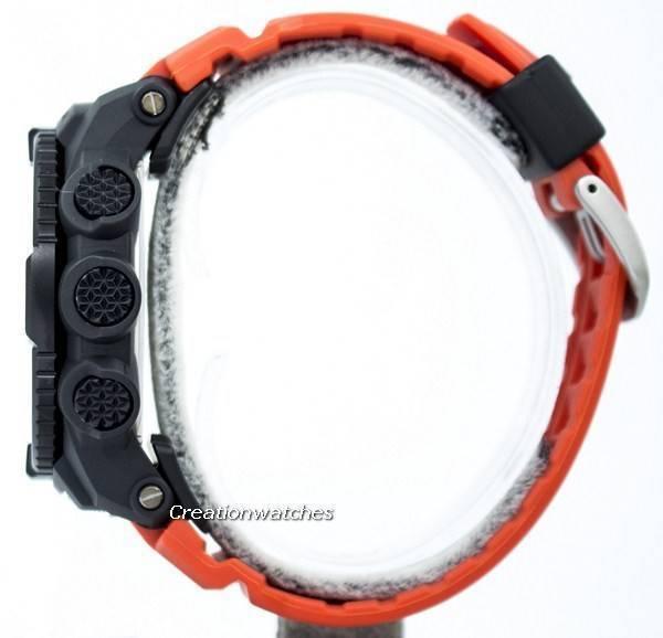 Casio Protrek Digital Atomic Tough Solar Triple Sensor PRW-3500Y-4D Watch - Click Image to Close