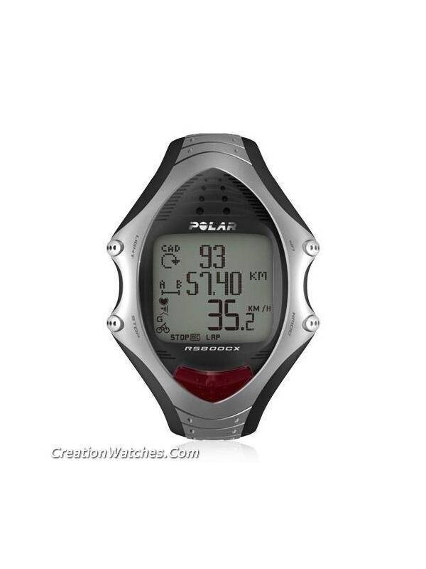 Polar Cycling Multisports Heart Rate Monitor Watch RS800cx RS800 - Click Image to Close