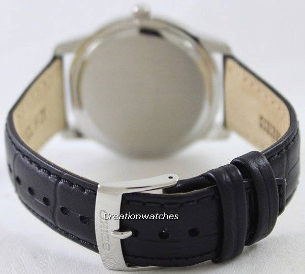 Seiko Quartz Sapphire White Dial SGEH17 SGEH17P1 SGEH17P Men's Watch - Click Image to Close