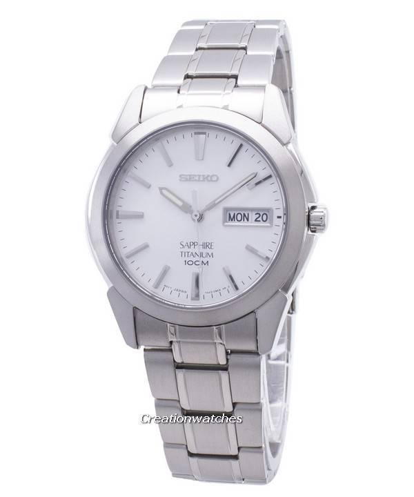 seiko titanium watches titanium chronograph kinetic watch seiko titanium sapphire sgg727 sgg727p1 sgg727p men s watch