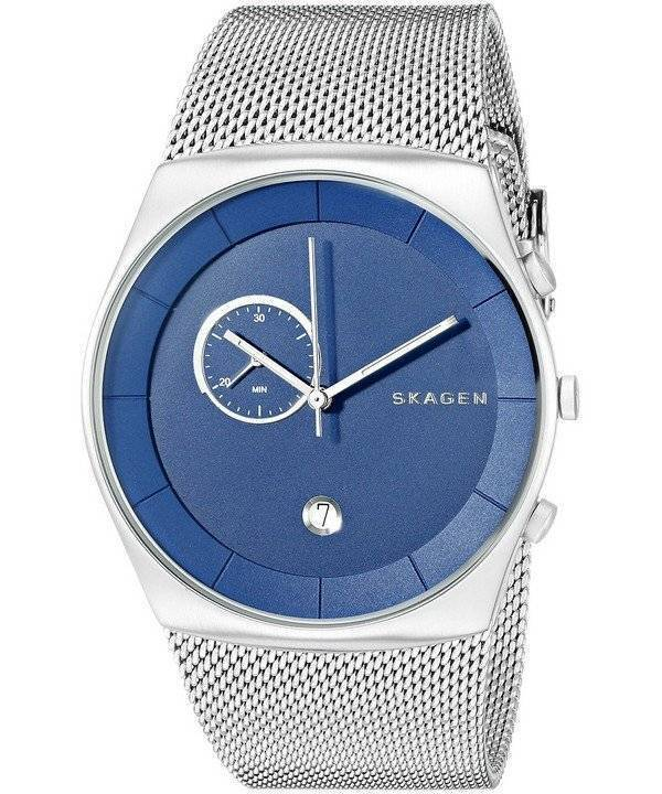 Skagen Havene Chronograph Mesh SKW6185 Men's Watch - Click Image to Close