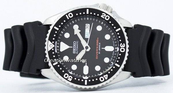 Seiko Automatic Diver's Japan Made SKX007 SKX007J1 SKX007J 200M Men's Watch - Click Image to Close