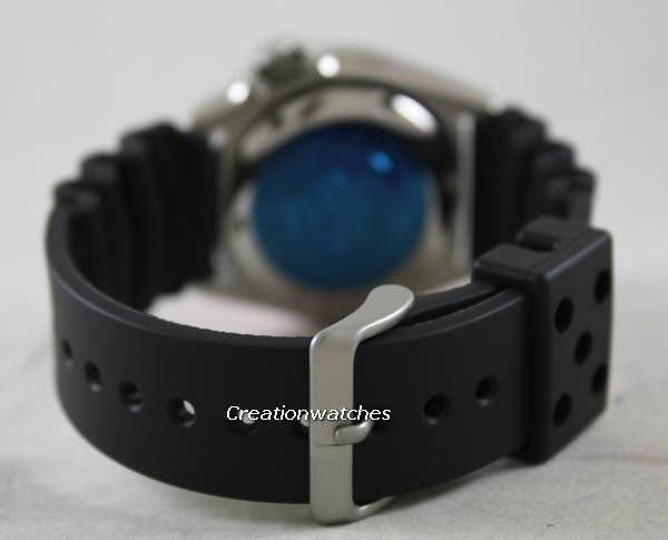 Seiko Automatic Diver SKX007 SKX007K1 SKX007K Rubber Band Men's Watch - Click Image to Close
