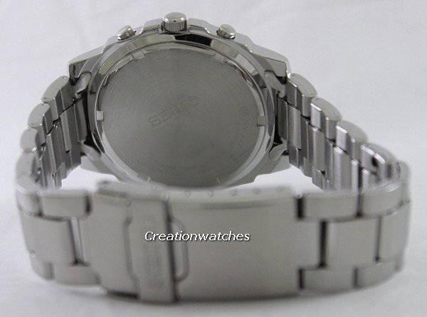 Seiko Chronograph SND195 SND195P1 SND195P Men's Watch - Click Image to Close