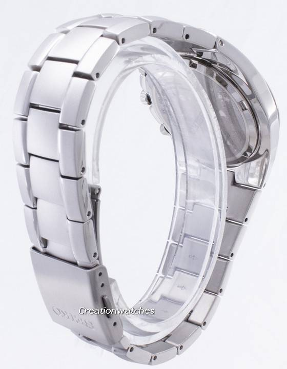 Seiko Titanium Chronograph SND419 SND419P1 SND419P Men's Watch - Click Image to Close
